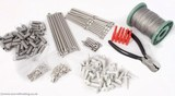 Masonry Pigeon Post and Wire Kits