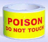 Poison 'Do Not TOUCH' Labels