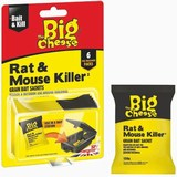 Rat and Mouse Killer Grain Bait Sachets 6 x 25g
